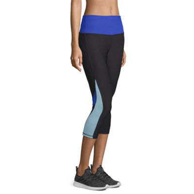 Xersion Colorblock Jersey Workout Capris