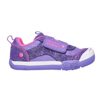 Skechers Flex Play Girls Walking Shoes Pull-on - Toddler