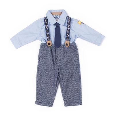 Little Lass Handsome Suspender Set-Baby Boy