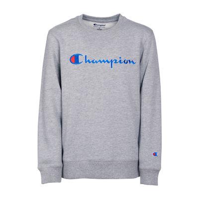 Champion Logo Sweatshirt - Girls' 4-16