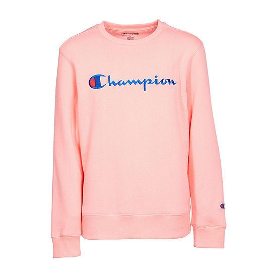 Champion Round Neck Sweatshirt - Girls Preschool