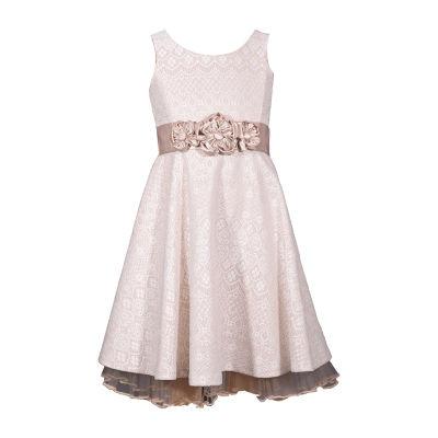 Bonnie Jean Sleeveless Skater Dress - Preschool Girls