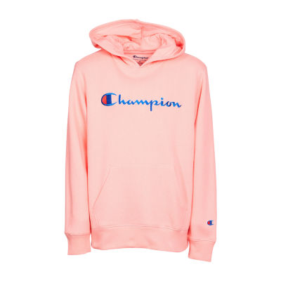 Champion Logo Hoodie - Girls' 4-16