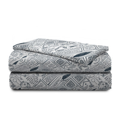 Warner Brothers Harry Potter Draco Dormiens Sheet Set