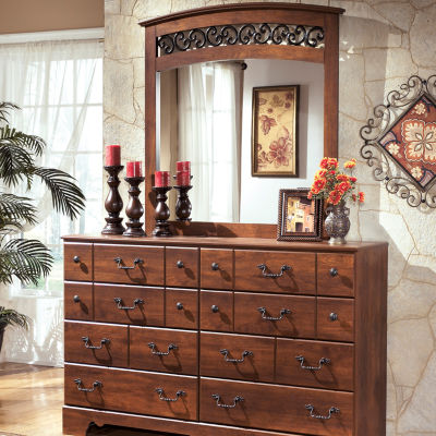 Signature Design by Ashley® Timberline Dresser and Mirror