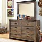 Signature Design by Ashley® Trinell Youth Dresser and Mirror