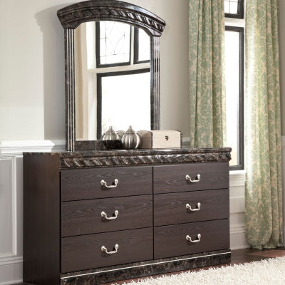 Signature Design by Ashley® Vachel Dresser and Mirror