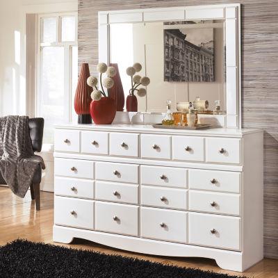 Signature Design by Ashley® Weeki Dresser and Mirror