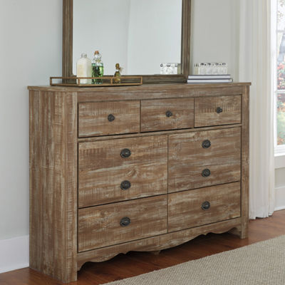 Signature Design by Ashley® Shellington Dresser and Mirror