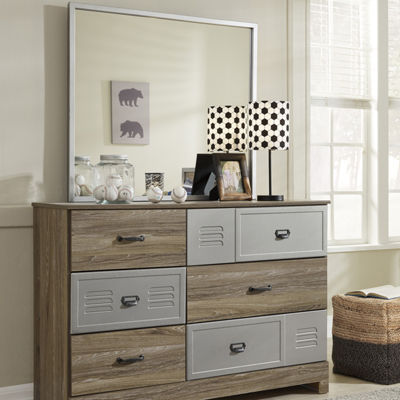 Signature Design by Ashley® McKeeth Dresser and Mirror