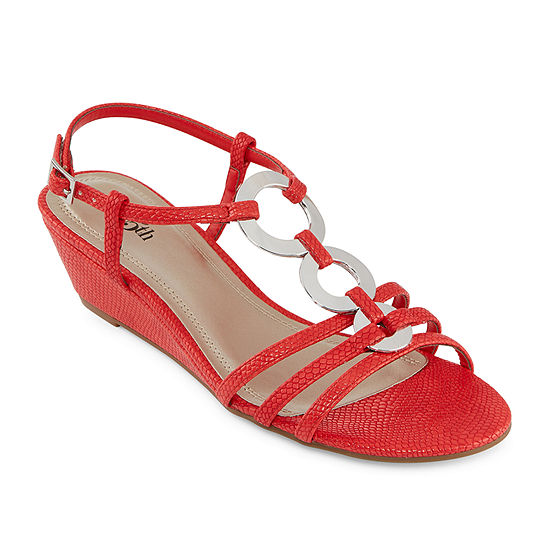 east 5th Womens Glyn Wedge Sandals