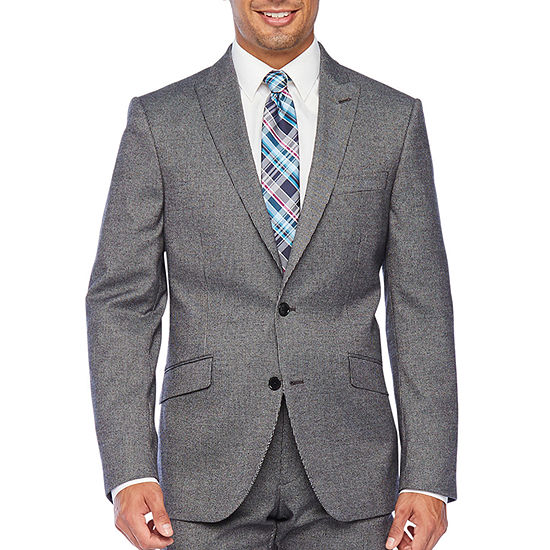 The Savile Row Co Slim Fit Stretch Suit Jacket