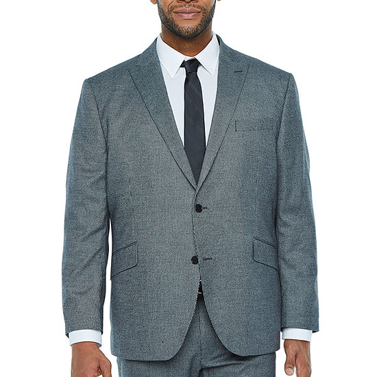 The Savile Row Co Stretch Classic Fit Suit Jacket-Big and Tall