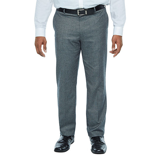 The Savile Row Co - Big and Tall Stretch Classic Fit Stretch Suit Pants