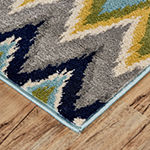 Weave And Wander Zainab Rectangular Indoor Rugs