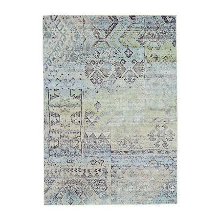 Weave And Wander Liv Rectangular Indoor Rugs, One Size , Green Product Image
