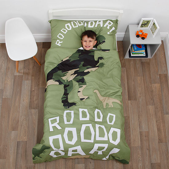 Nojo Everything Kids 4-pc. Dinosaurs Toddler Bedding Set