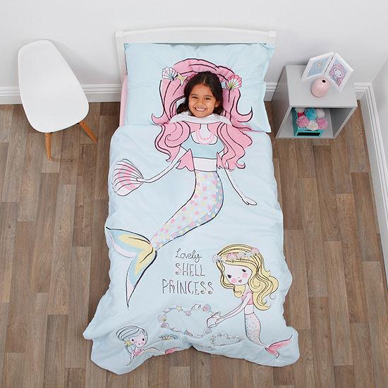 Nojo Everything Kids Mermaid 4-pc. Toddler Bedding Set
