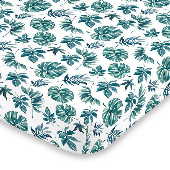 Nojo Super Soft Floral Crib Sheet