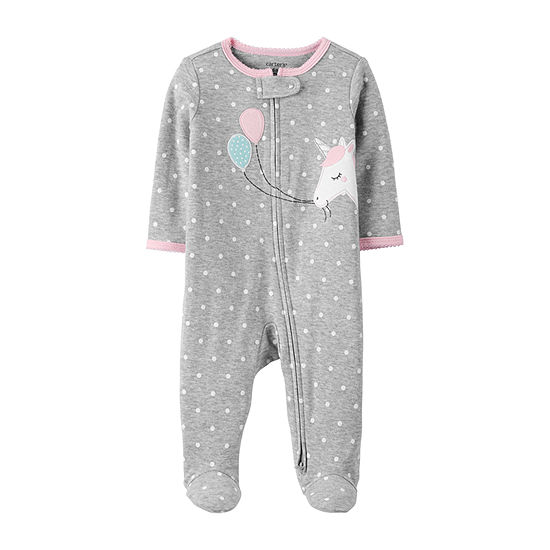 Carter's 2-Way Zipper Girls Sleep and Play - Baby