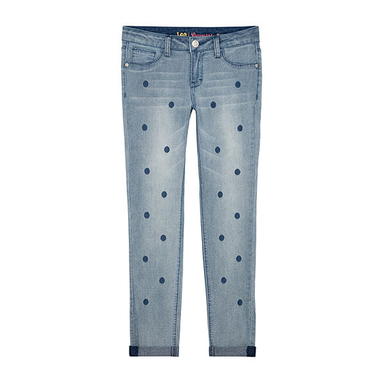 Lee Big Kid Girls Low Rise Skinny Fit Jean