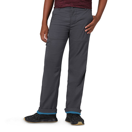 Wrangler All Terrain Gear Big Boys Straight Flat Front Pant