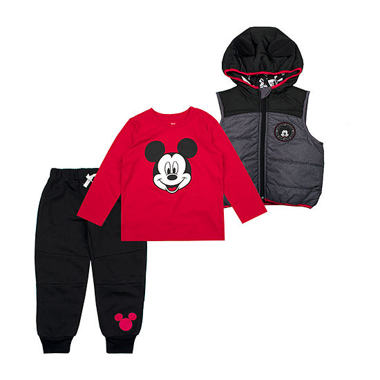 Disney Toddler Boys Mickey Mouse 3-pc. Pant Set