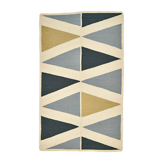 Weave And Wander Kiara Braided Rectangular Indoor Rugs