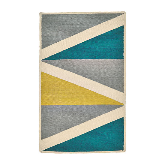 Weave And Wander Mckenzie Braided Rectangular Indoor Rugs