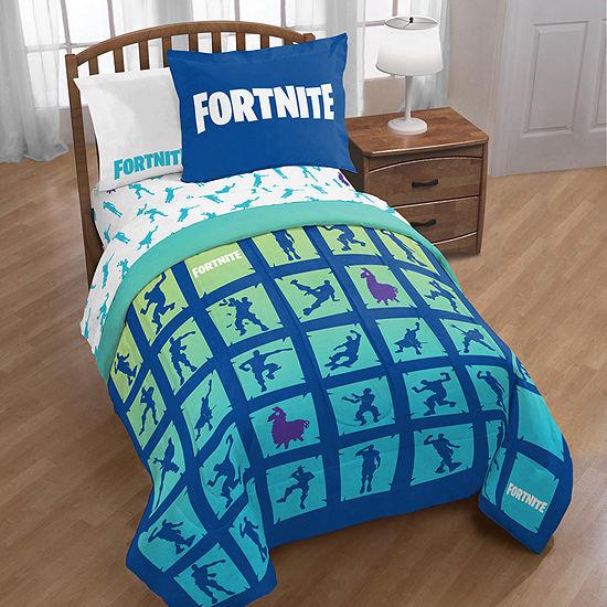 Fortnite Midweight Twin/Full Reversible Comforter