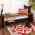 Solid Rustic Reclaimed Wood Entry Bench