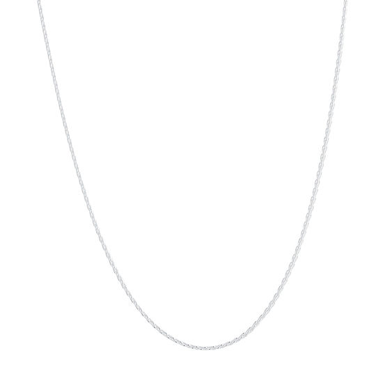 Silver Treasures Sterling Silver 18 Inch Chain Necklace