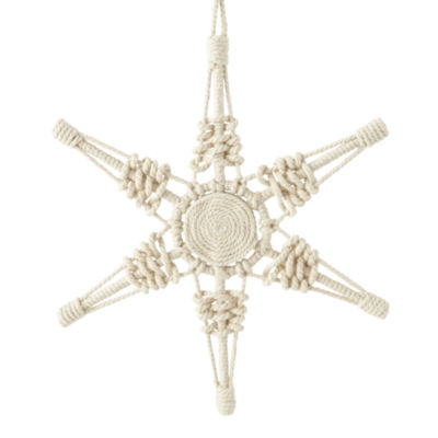 North Pole Trading Co. Snowflake Enchanted Woods Christmas Ornament
