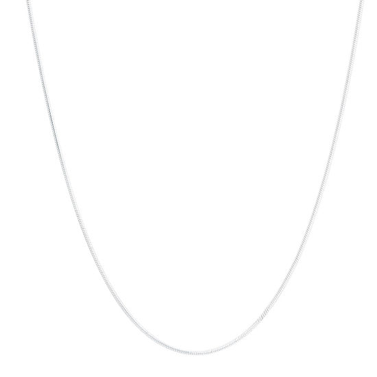 Silver Treasures Sterling Silver 18 Inch Snake Chain Necklace