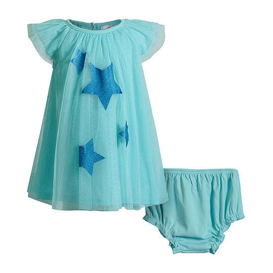 Sweetheart Rose Baby Girls 2-pc. Sleeveless Star A-Line Dress