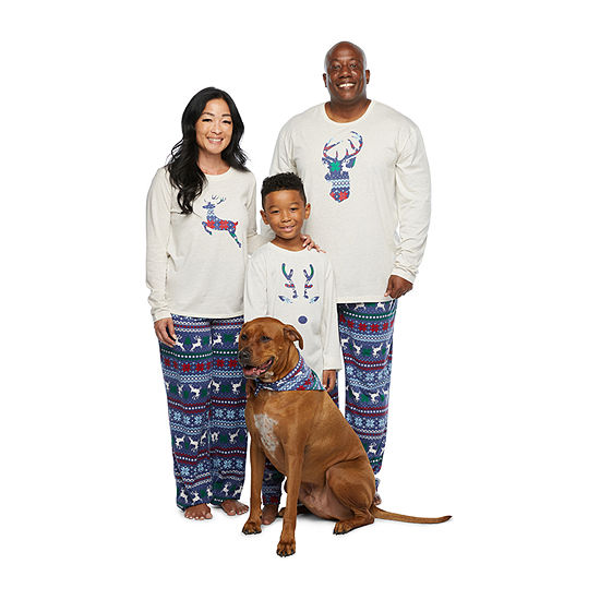 North Pole Trading Co. Fairisle Matching Family Pajamas
