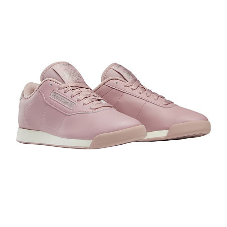 1980s Clothing, Fashion | 80s Style Clothes Reebok Princess Womens Sneakers 7 12 Medium Pink $44.99 AT vintagedancer.com