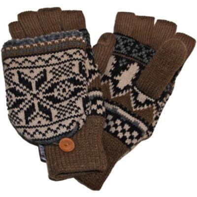 MUK LUKS® Nordic Fingerless Flip Top Gloves