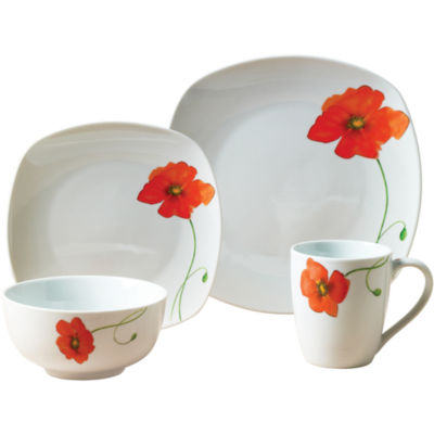 Tabletops Unlimited® Palermo 16-pc. Floral Porcelain Dinnerware Set
