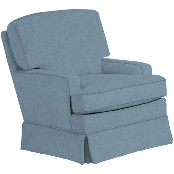 Best Chairs, Inc.® Contemporary Club Swivel Glider