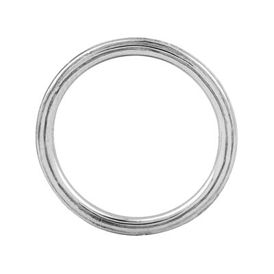 Personally Stackable Sterling Silver Stackable 1.5mm Step-Down Ring