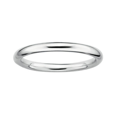 Personally Stackable Sterling Silver 3.5mm Polished Ring