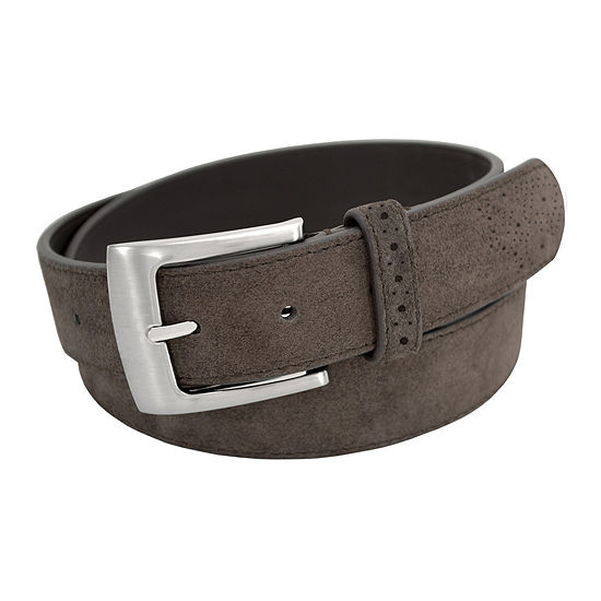 Stacy Adams® 32MM Suede Leather Belt