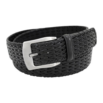 Stacy Adams® 32MM Braided Leather Belt