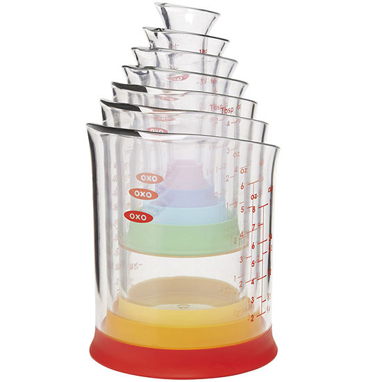Oxo Good Grips 7 Pc Liquid Measuring Beakers Set