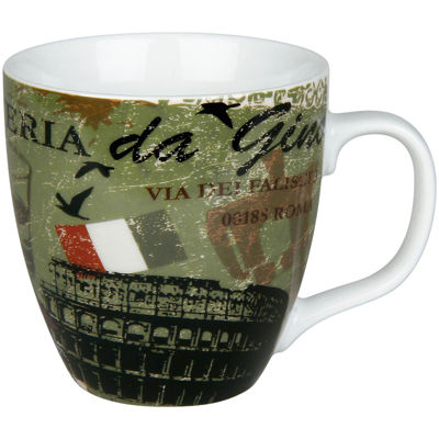 Konitz Cosmopolitan Italy Set of 4 Mugs