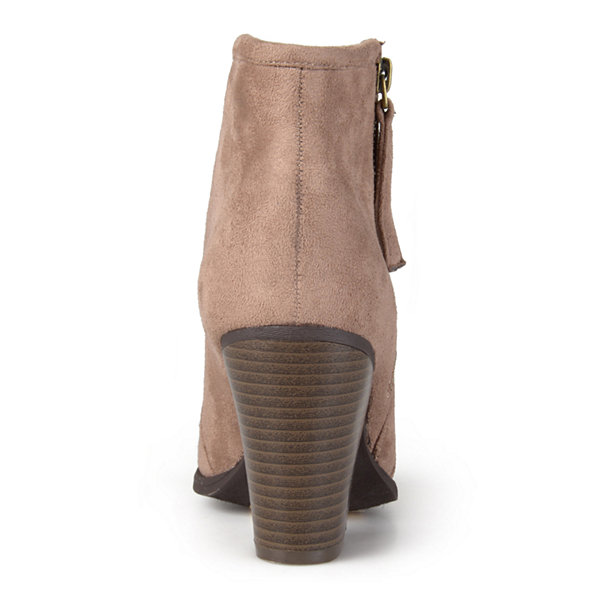 Journee Collection Link Womens Ankle Booties