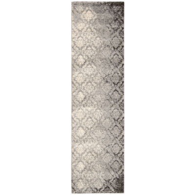 Kathy Ireland® Royal Shimmer Wool Shag Runner Rug