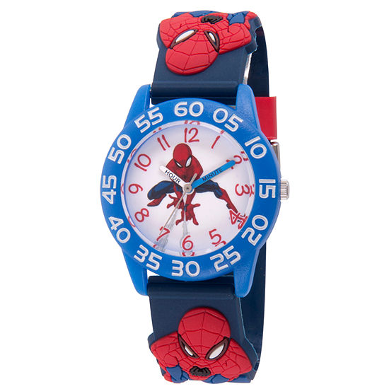 Marvel Marvel Boys Blue Strap Watch-Wma000168