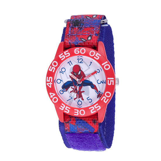 Marvel Marvel Boys Blue Strap Watch-Wma000192